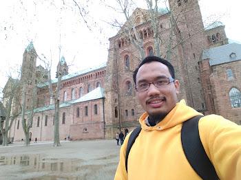 Berhujung minggu di sekitar kawasan Kathedral Speyer, German