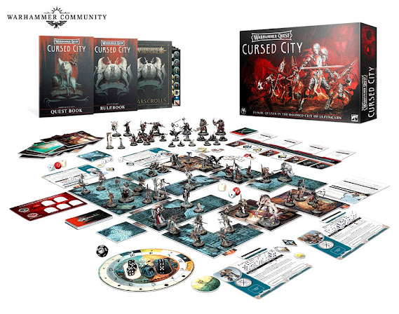 Warhammer Quest: Cursed City contenido