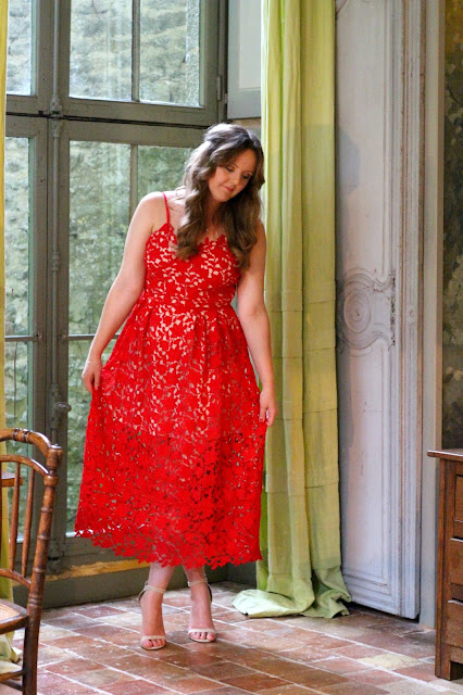 Self Portrait Azaelea dress