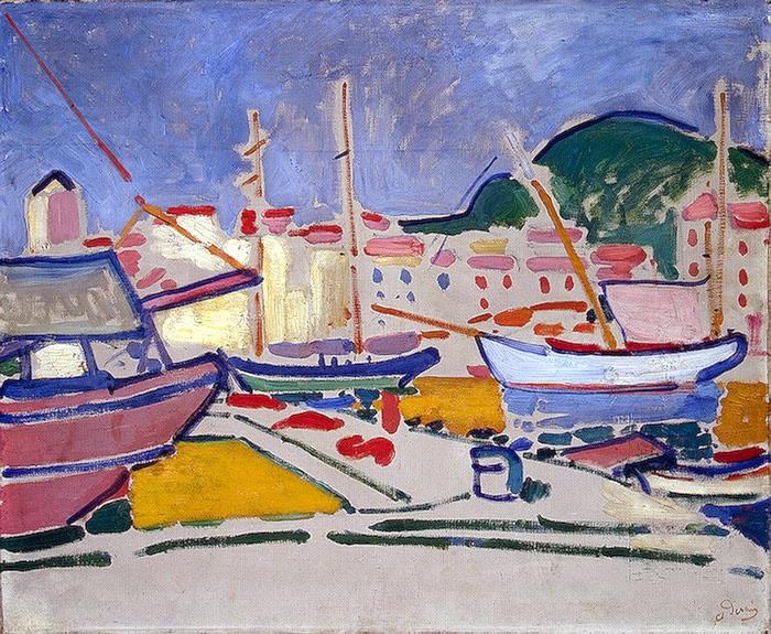 Porto - André Derain e suas principais pinturas ~ (Fauvismo) Francês