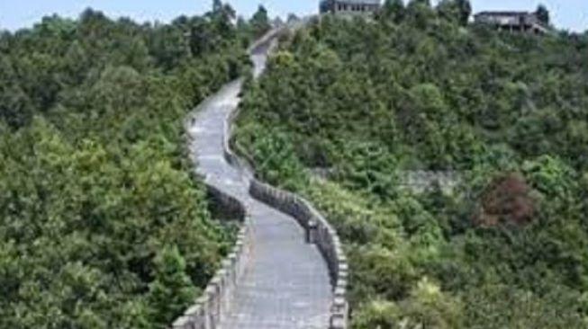 Heboh Kemunculan Tembok Besar China Palsu Senilai Rp 216 Miliar Tuai Banyak Perdebatan