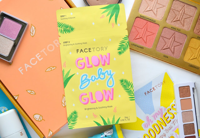 FaceTory Glow Baby Glow Sheet Mask Review