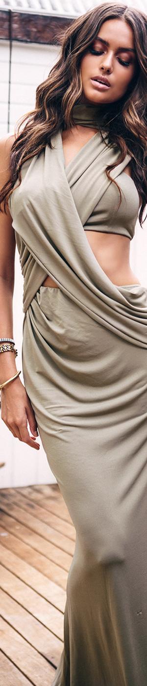Sabo Skirt Saffron Tie Maxi