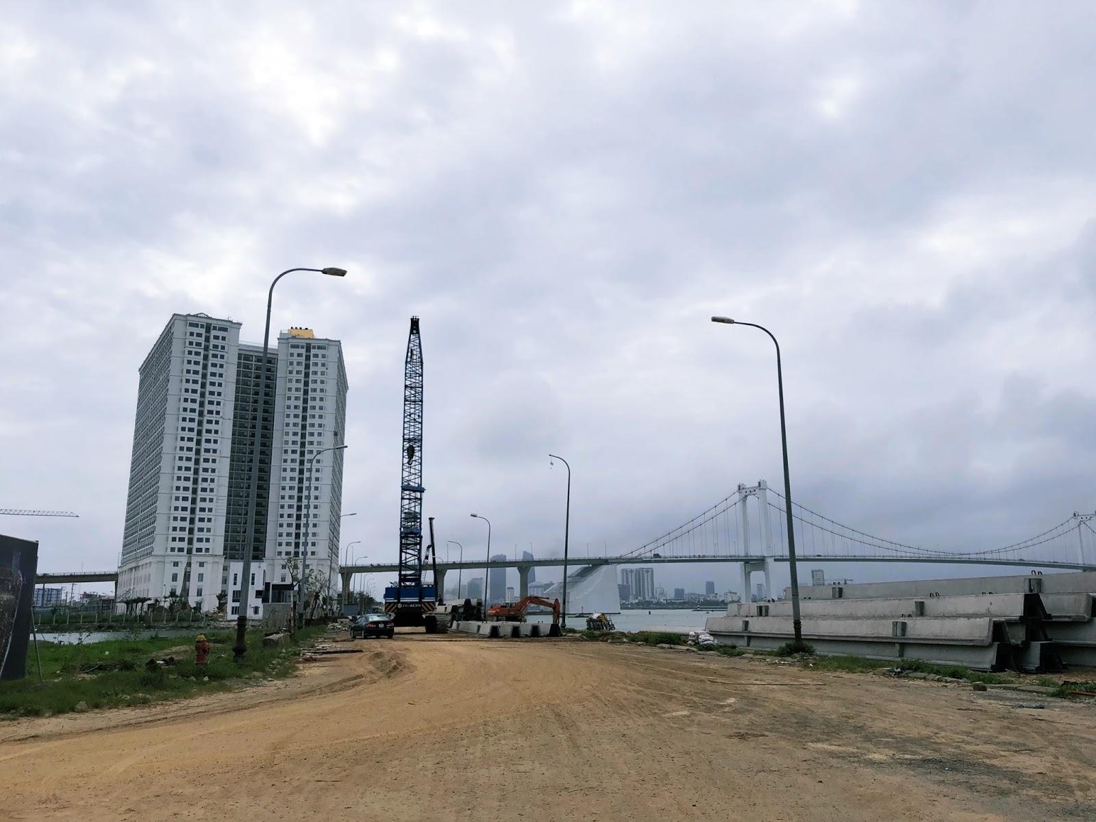 Tiến độ thi công của dự án khu đô thị Thuận Phước