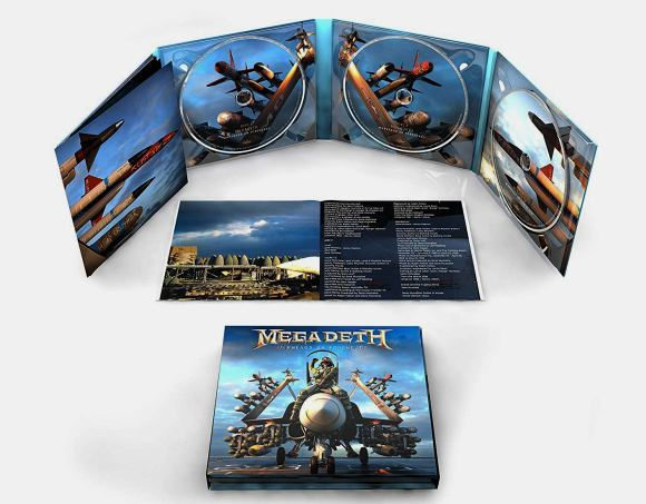 MEGADETH - Warheads On Foreheads [3-CD] (2019) digipak