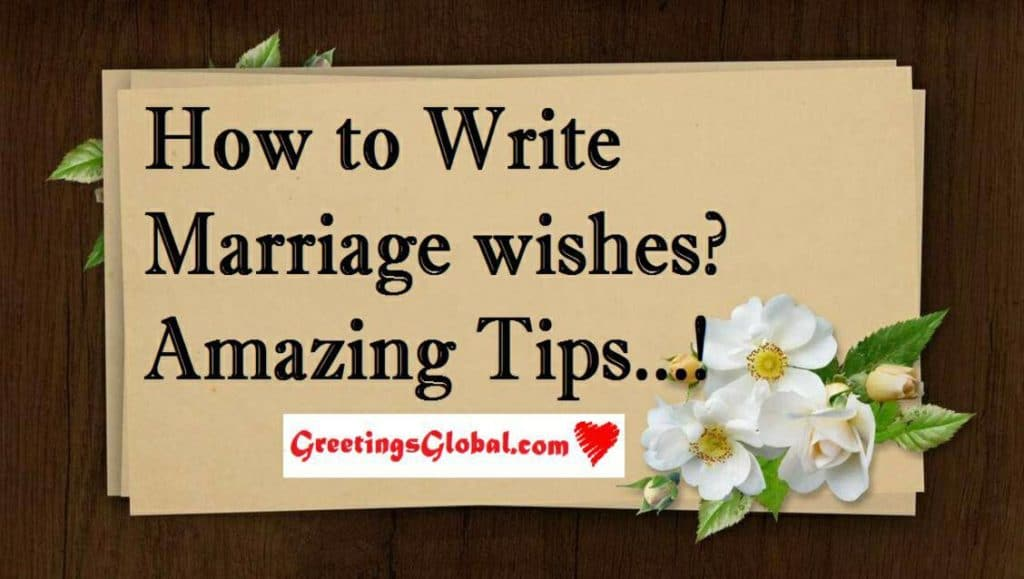 Best marriage wishes for friend important tips