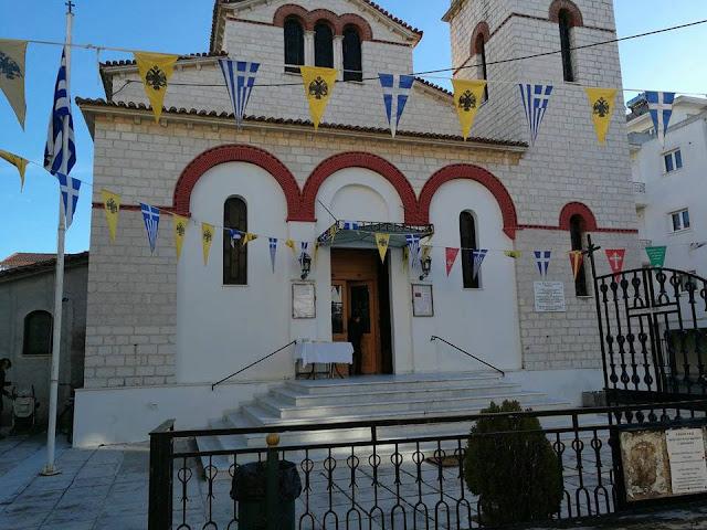 Πρέβεζα: Στον πανηγυρίζοντα Ιερό Ναό του Αγίου Βασιλείου ο εορτασμός του νέου έτους