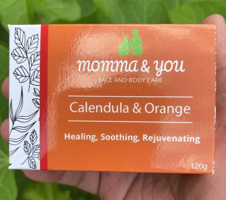 Momma and You Calendula and Orange Bar Soap by Ed & Kes