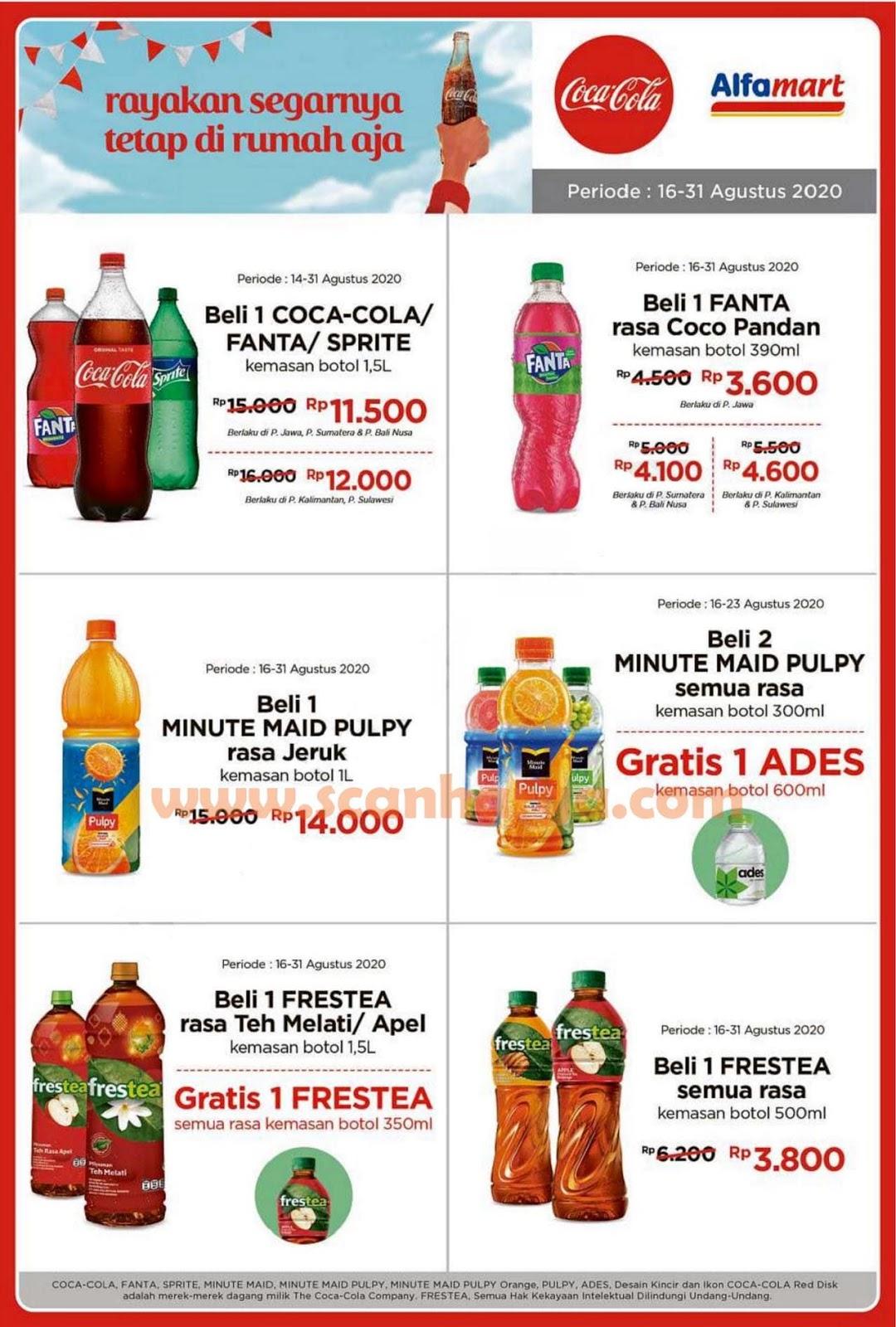 Promo Alfamart Coca Cola Fair