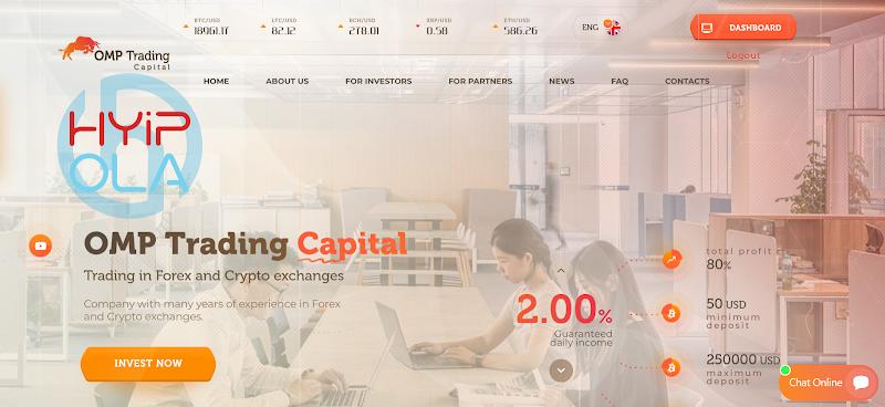 [SCAM] Review Omptrading Capital - Dự án ổn định lãi 2% hằng ngày - Thanh toán tức thì