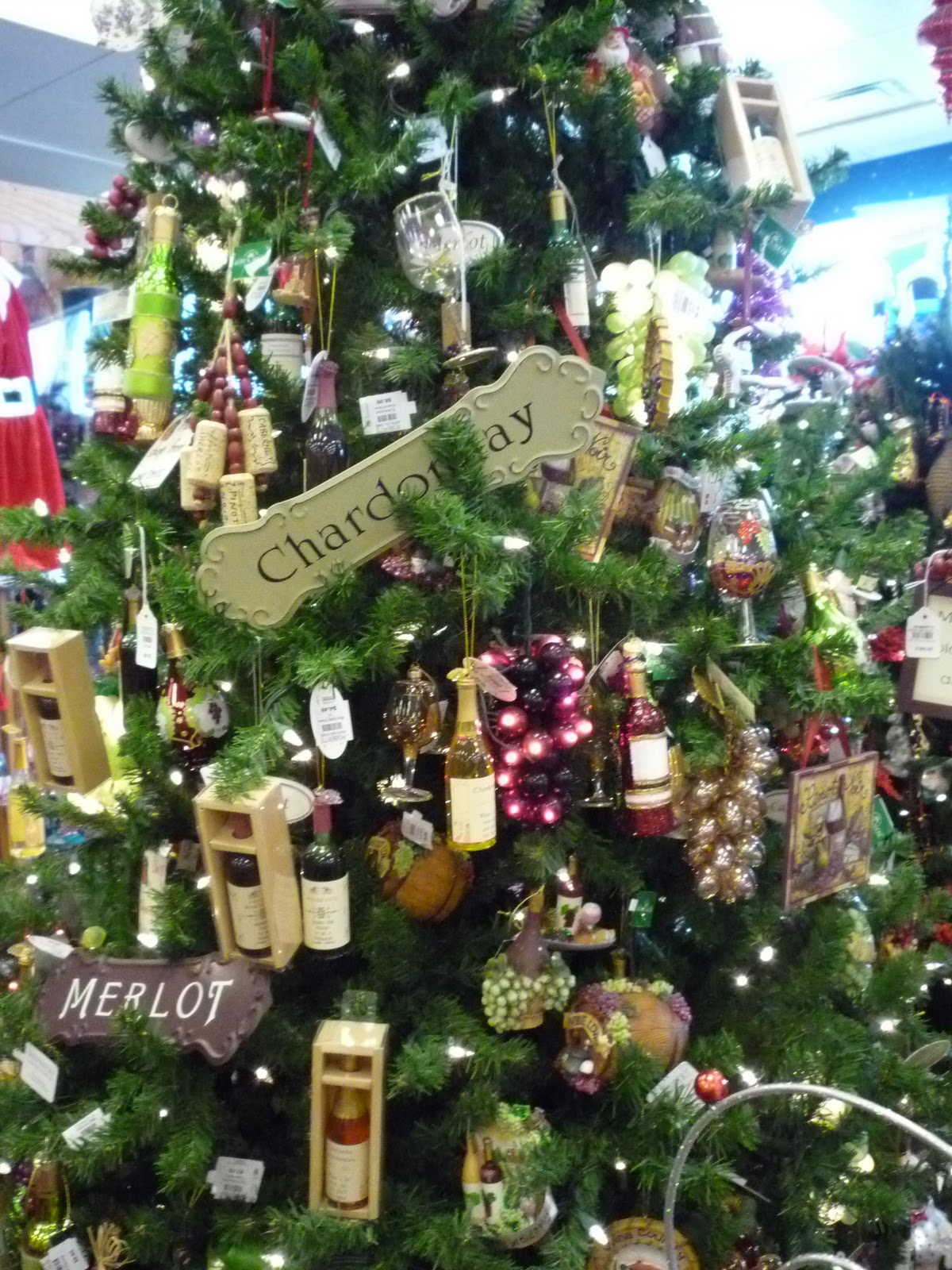 Insaneaboutchristmas Wine Themed Christmas Tree