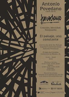 Del 22 de marzo al 28 de julio de 2019. Centro de Arte del Paisaje Español Contemporáneo de Priego de Córdoba.