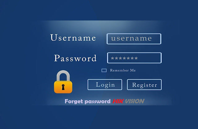 Mengatasi lupa password DVR Hikvision terbaru 2020