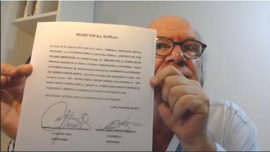 Valverde prepara un libro con toda la documentación sobre el caso Zapata