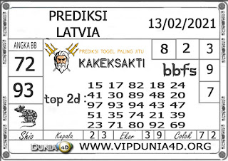 Prediksi Togel LATVIA DUNIA4D 13 FEBRUARI 2021