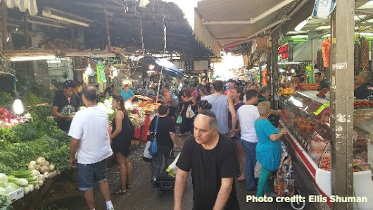 The Colors of Tel Aviv's Carmel Market