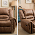 CANMOV Breathable Bonded Leather Recliner Chair