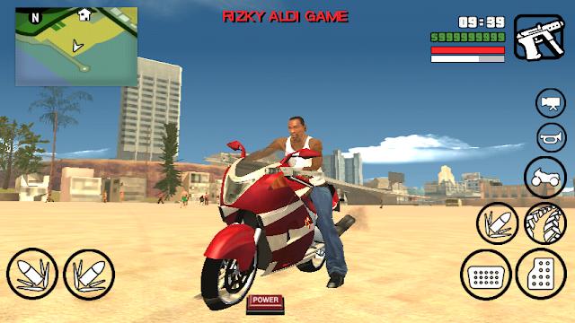 Hakuchou Bike Mod GTA San Andreas Android GTAAM