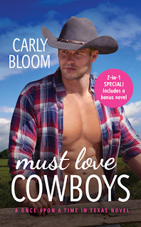 Book Review: Must Love Cowboys (Once Upon a Time in Texas#3) by Carly Bloom
