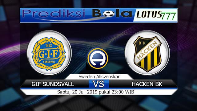 PREDIKSI GIF SUNDSVALL VS HACKEN BK SABTU 20 JULI 2019
