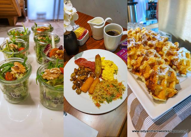 Premier Inn Al Jaddaf Nuevo breakfast