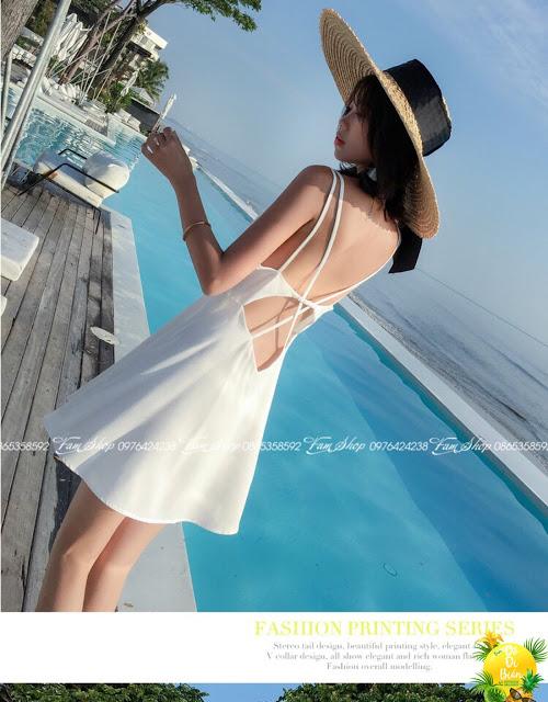 Cua hang ban váy maxi di bien tai Ngoc Lam