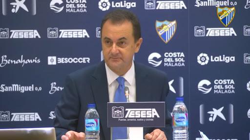 """José María Muñoz: """"El Málaga no está en venta, ni yo tampoco"""""""