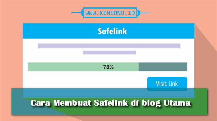 Tutorial blog safelink