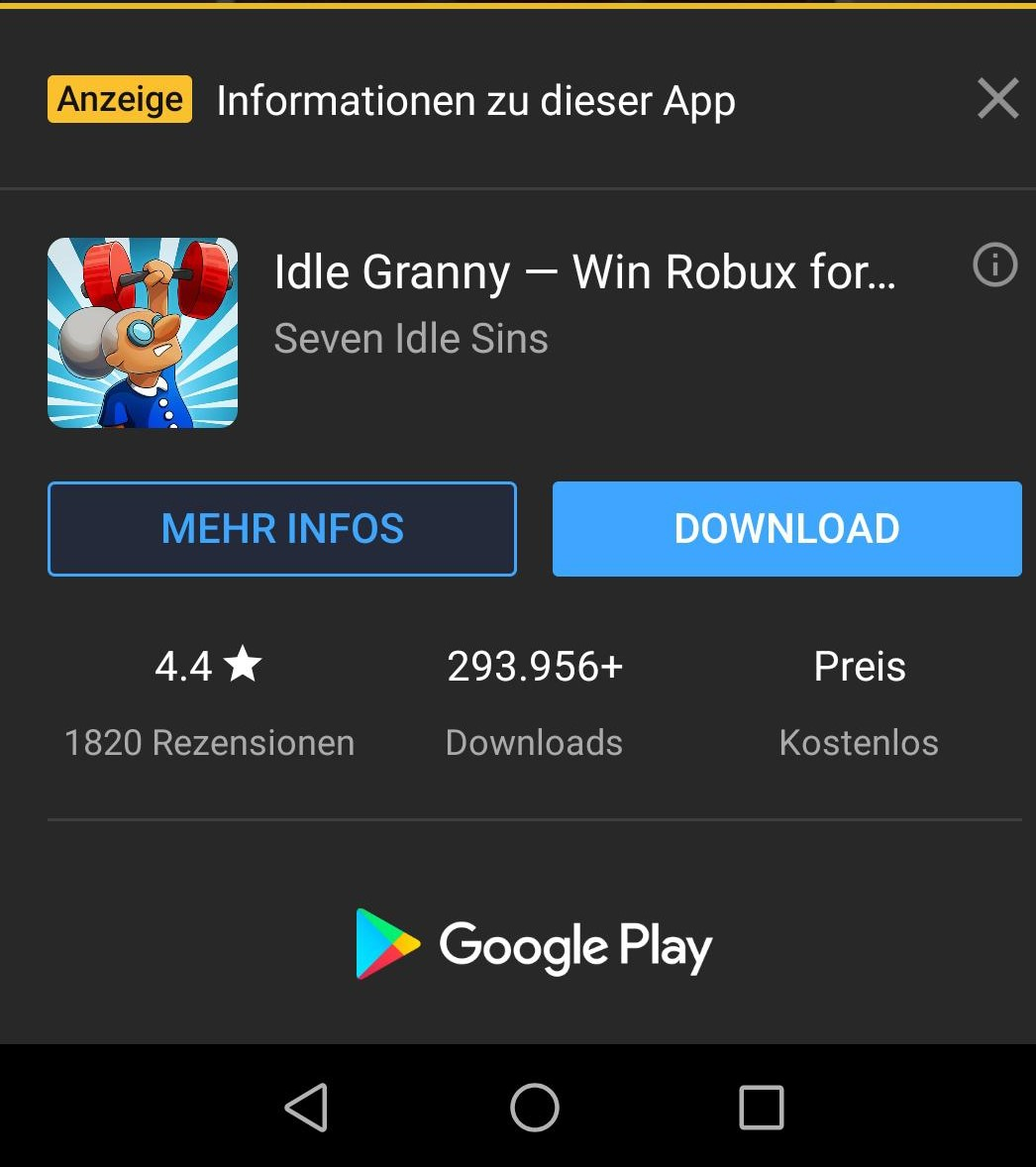 Idle Granny Scam Cyber Bunkers