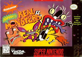 Jogo AAAHH!!! Real Monster para Snes online grátis
