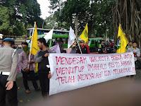 Mahasiswa Bogor Dipukuli Saat Aksi Demo Tempat Maksiat