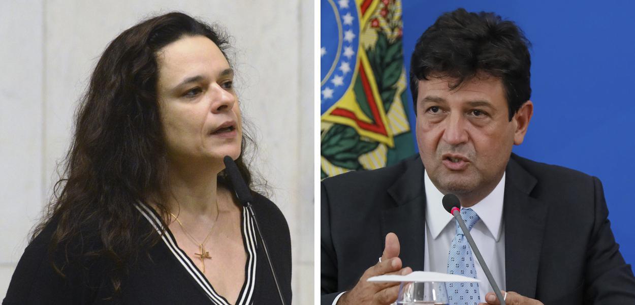 """Janaína expõe erro de Mandetta durante a pandemia: """"Ele insiste no discurso inicial"""""""