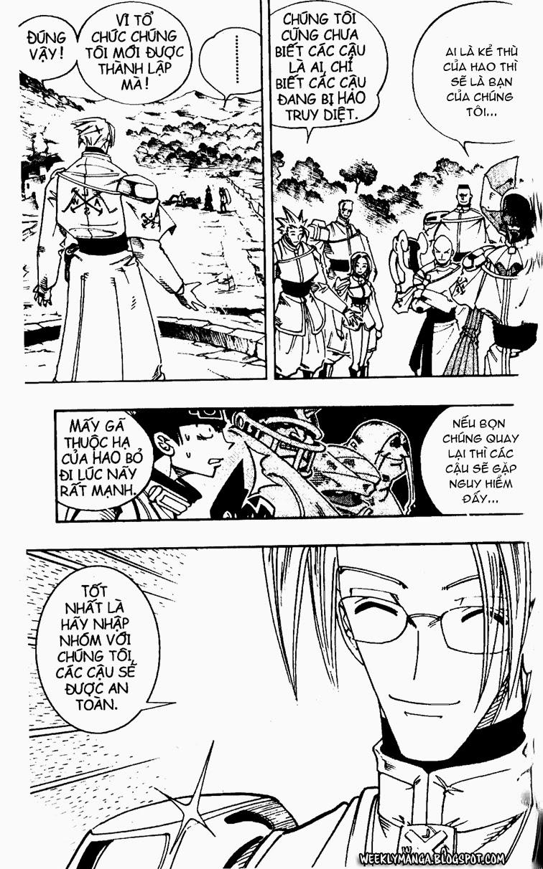 Shaman King [Vua pháp thuật] chap 104 trang 3