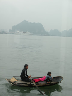 Halong Baie d'Halong pêcheurs