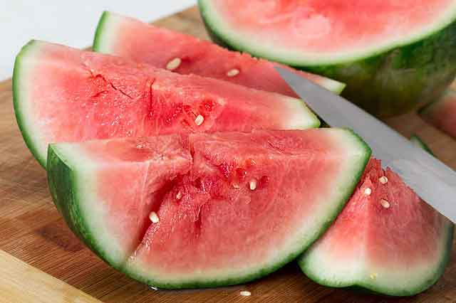 watermelon to lower blood pressure