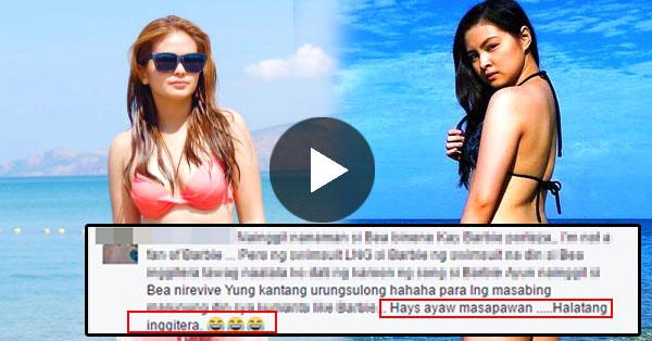 'Halatang Inggitera' Netizens Bashed Bea Binene's Bikini Photo!