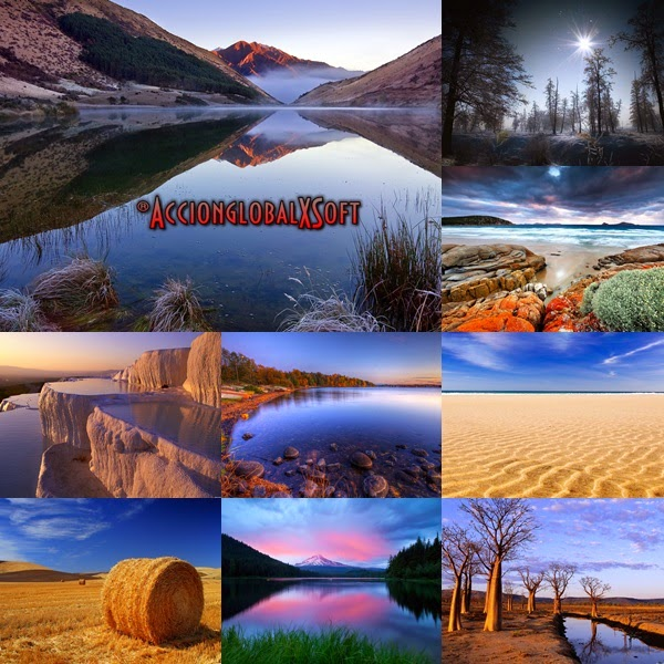 Wallpapers paisajes HD - Pack 50