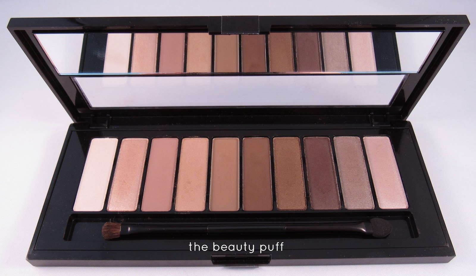 l'oreal la palette nude 1  - the beauty puff