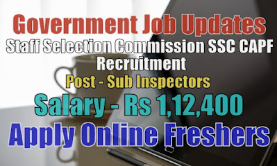 SSC CAPF Recruitment 2020