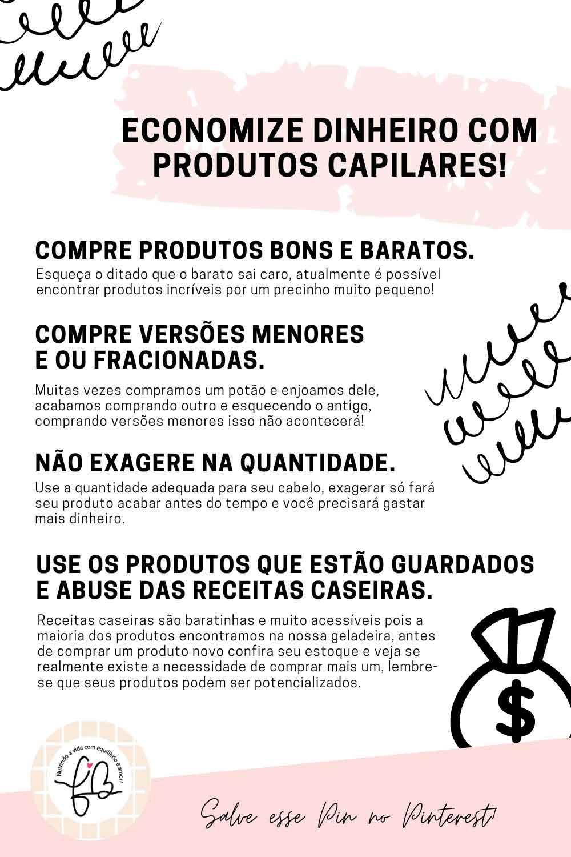 produtos capilares