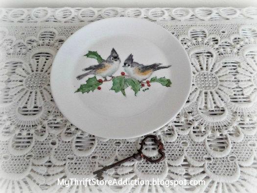 Syracuse Christmas plate
