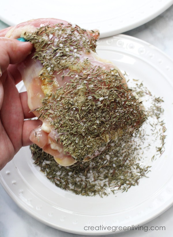 best keto garlic and herb crusted chicken thighs recipe
