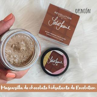 Mascarilla hidratante CHOCOLATE de Revolution