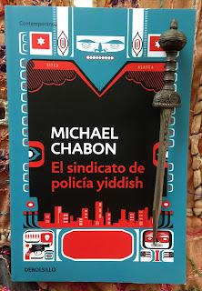 Portada del libro El sindicato de policía yiddish, de Michael Chabon