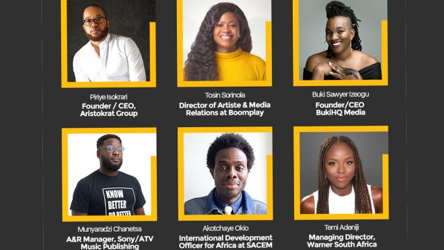 Aristokrat Group, Boomplay unveil mentors for Open House Series