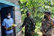 Terjadi Di Bulukumba, Dua Petinggi TNI Polri Doakan Warga Yang Terbaring Sakit