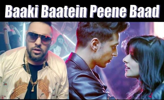 Baaki Baatein Peene Baad LYRICS Guitar, Hindi English Party Song of The Year 2015