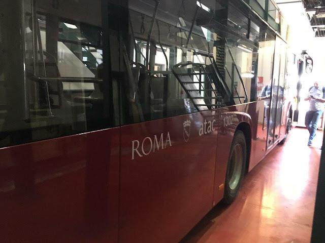 IIA ha consegnato a Roma 2 dei 200 bus, le prospettive