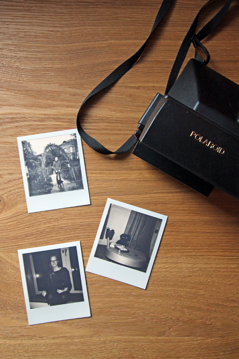 Polaroid Kamera im 25hours Langstrasse Zürich