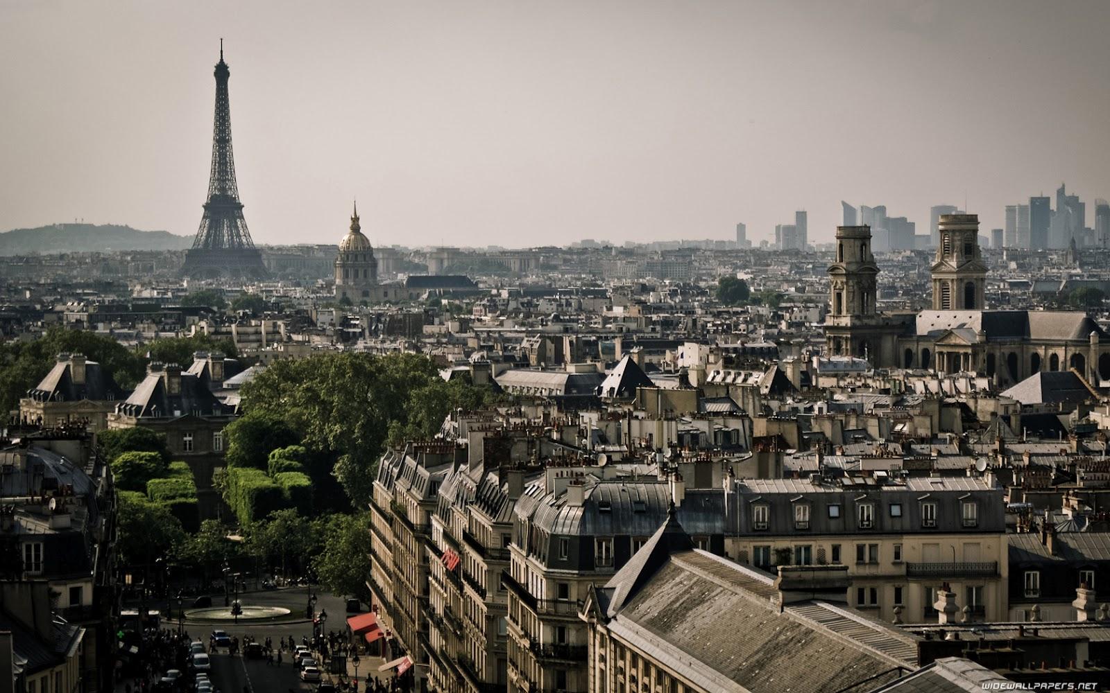 Sportstars: Paris Skyline Wallpapers HD
